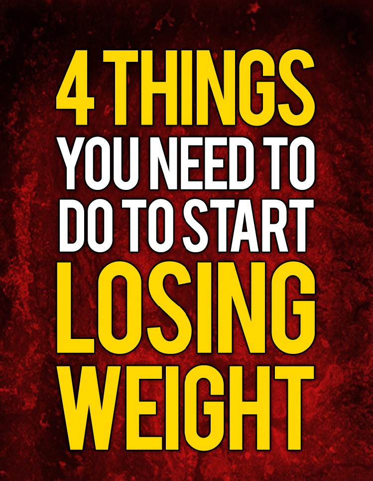 Lose Weight With 4 Steps