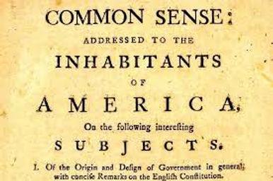 Common Sense b Thomas Paine