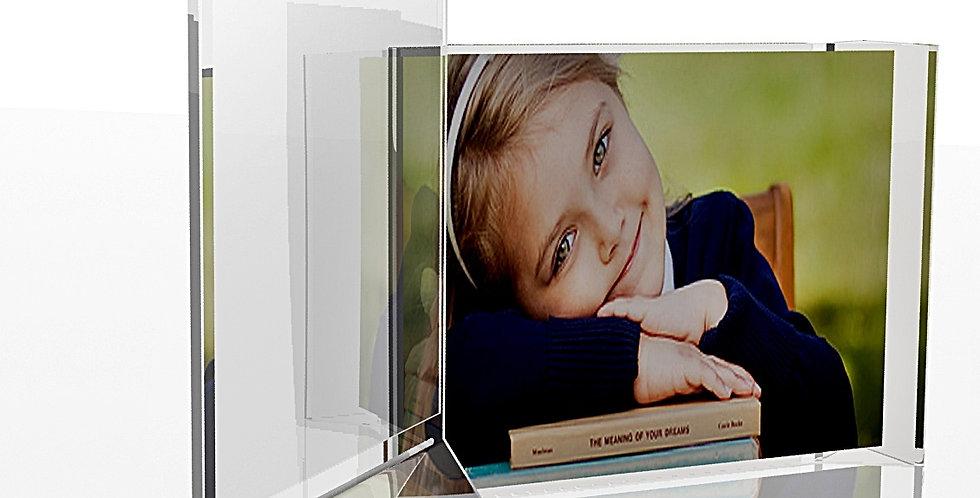 A5 Menu Card Sign Holder |Transparent, 6.0 x 8.0| Set of 2 |