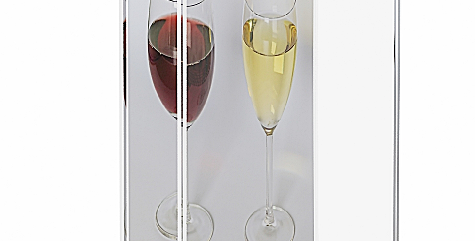 A6 Portrait 'T' Base Double sided Sign Holder | Set of 2 |