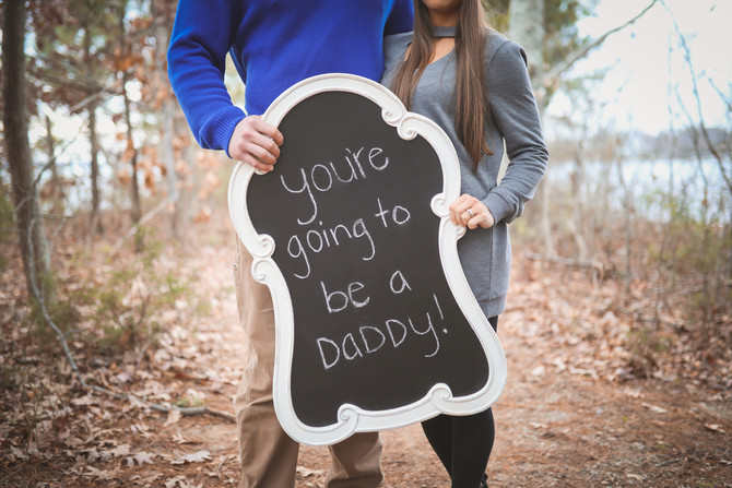 SURPRISE...YOU ARE GOING TO BE A DADDY!