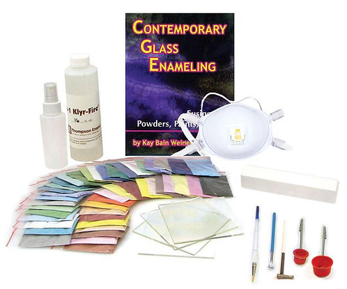 Glass Enameling Starter Kit