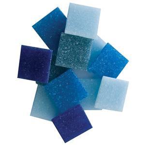"3/4"" Venetian Glass Tile Mixes, 8 oz., Many Assortment Choices!"