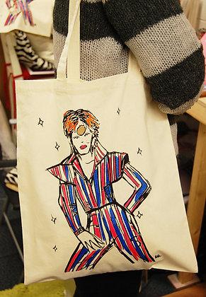 Ziggy Stardust Tote Bag BB