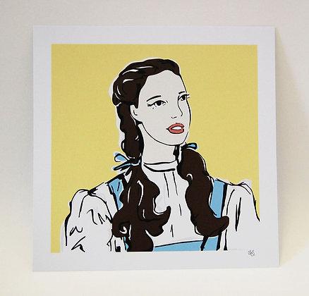 Judy Garland Dorothy Art Print BB