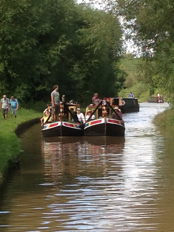 Shropshire Union towards Beeston Aug 2014