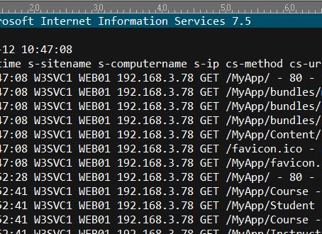 Analyzing Microsoft IIS Web Logs - Part 1