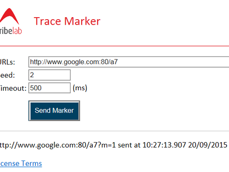 Markers and the TribeLab Trace Marker Tool
