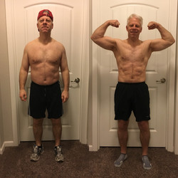 Brad's before and after