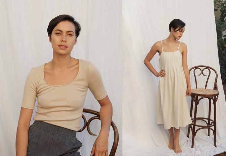 quarter top | pleat pleat dress