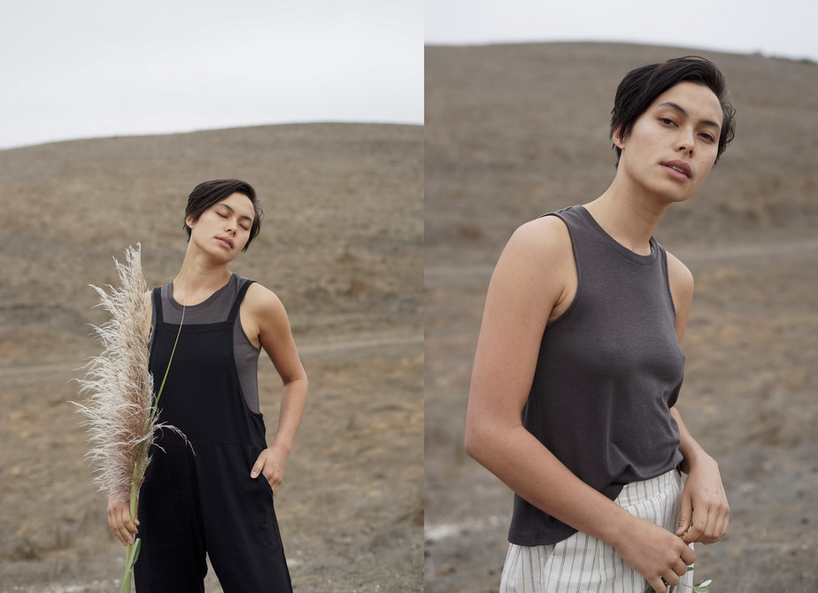 overall | muscle tank