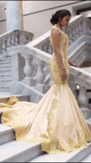 staircase gown