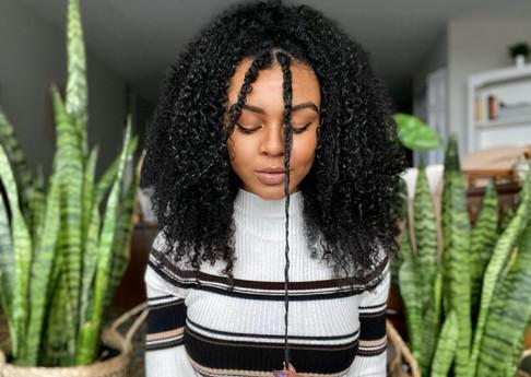 type 3 type 4 hair tips