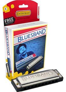Armonica Hohner Blue Band Richter Serie