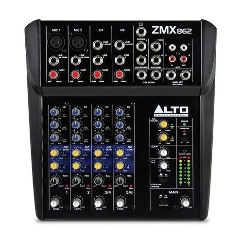 Mixer Alto Professionale Zephyr ZMX862