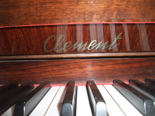 Pianoforte Verticale Clemet Chippendale 115