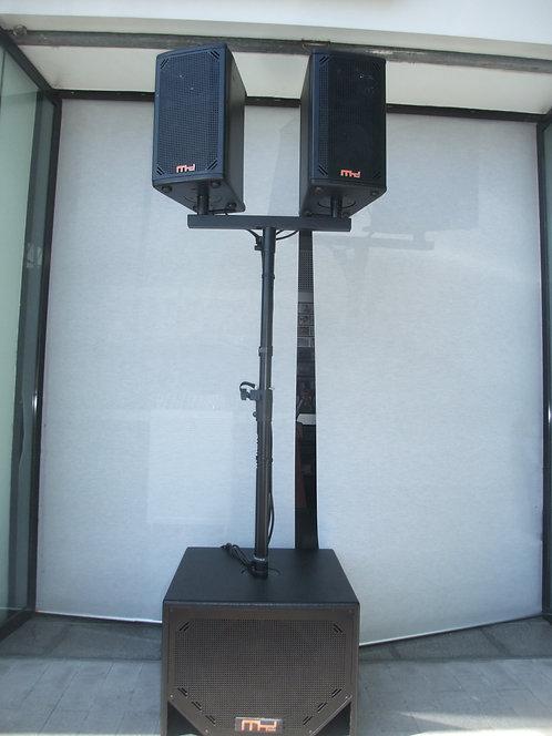 Sistema MY Audio F8P + SUB S12