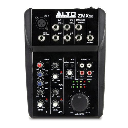Mixer Alto Professionale- Zephyr ZMX52