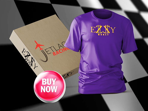 EZZY MONEY PURPLE T-SHIRT