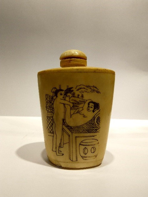 Ancient Jar with Sexual Drawings 1