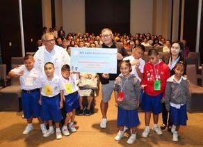บริจาคอุปกรณ์และทุนการศึกษาแก่โรงเรียนสอนคนตาบอดมกุฎคีรีวัน