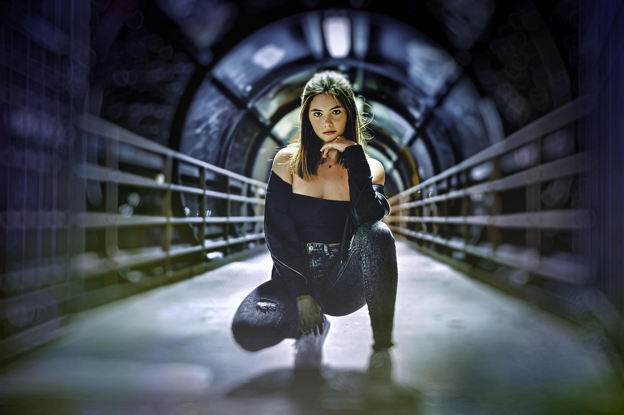 """""""Miami Portals"""". Model: Sophia Pacheco"""