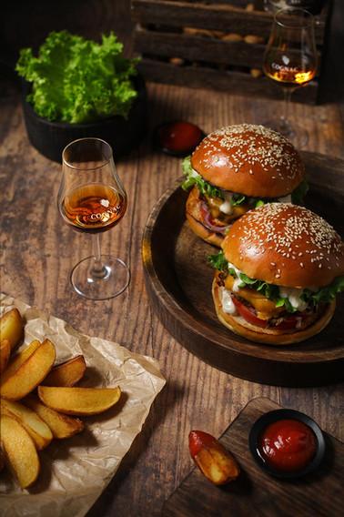Burger Cognac