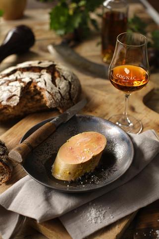 Foie gras Cognac