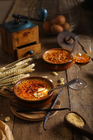 Crème brulée Cognac