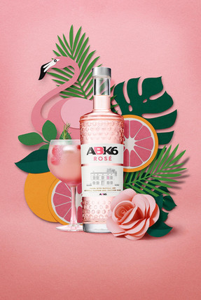 Vodka Rosé ABK6