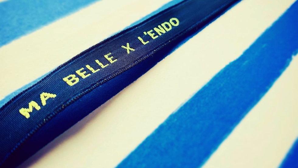 """Bracelet HENRI """"Ma Belle x l'endo"""""""