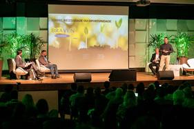 Empreendedores de Joinville destacaram os desafios de empreender e compartilharam dicas no painel do