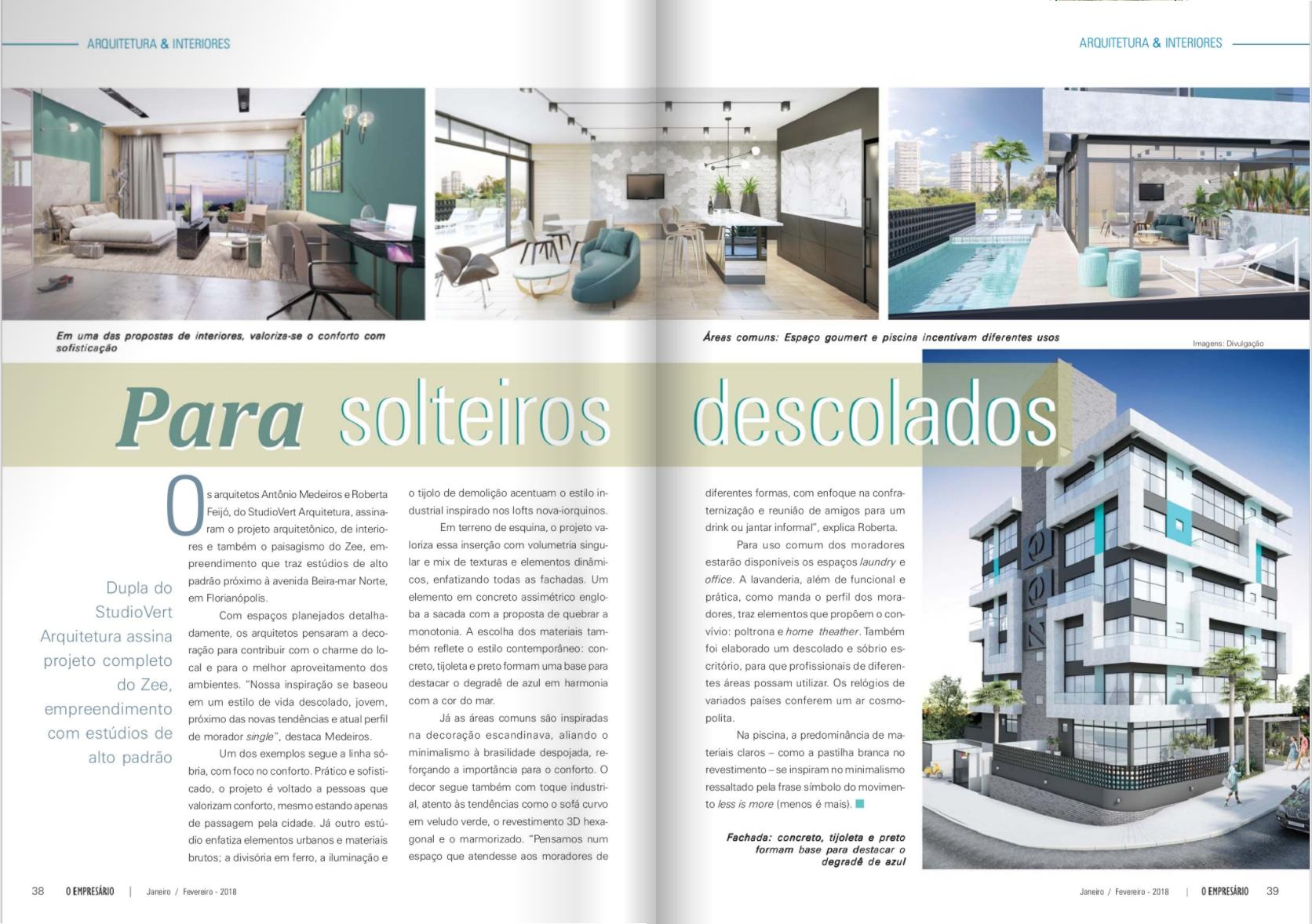 Cliente: StudioVert Arquitetura