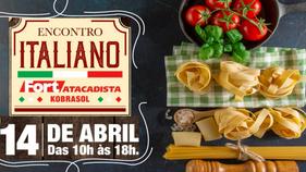 Degustações, prêmios e música típica marcam o 2º Encontro Italiano Fort Atacadista