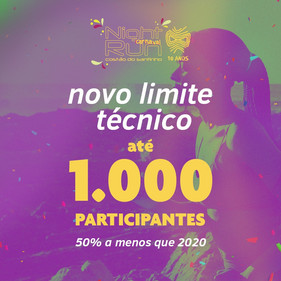 Night Run Costão do Santinho confirma nova data da prova em 2021