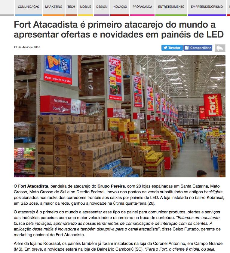 Cliente: Fort Atacadista