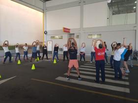 Fort Atacadista Kobrasol oferece aulas gratuitas de ginástica à comunidade