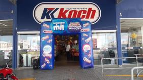 SuperKoch lança campanha de aniversário e todos os dias tem sorteio de 1 mil reais em compras