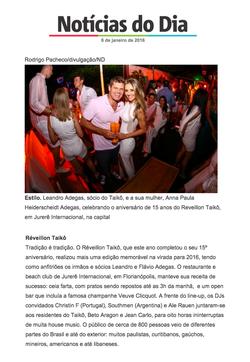 Reveillon Taikô - ND Joinville