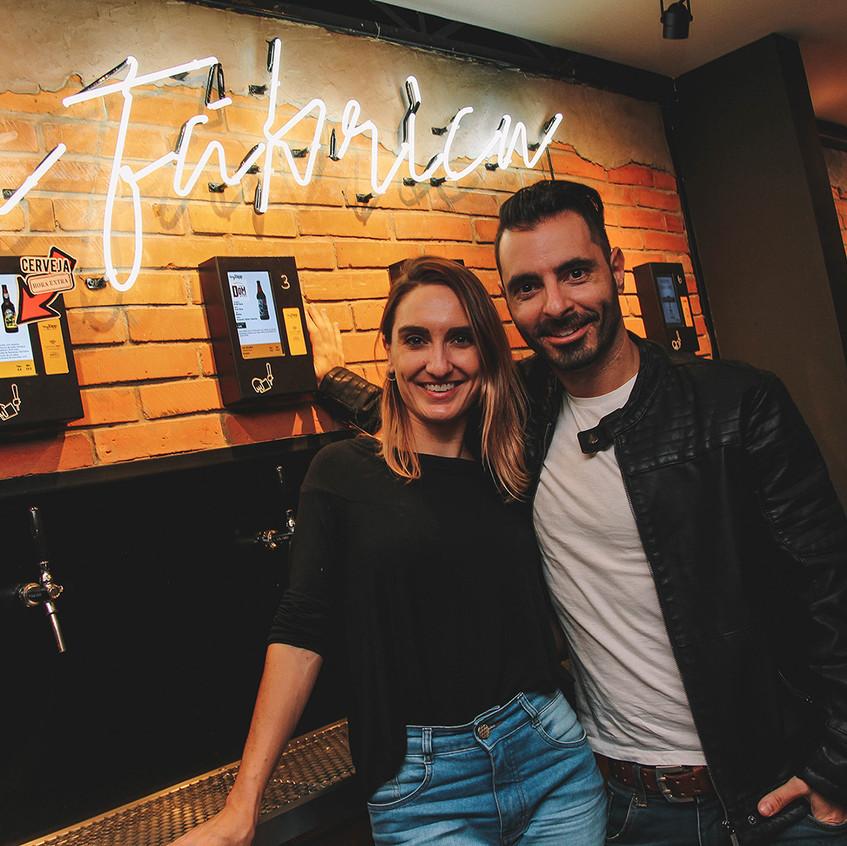 Joana Volpato e Marcos Rocca _ foto Ana