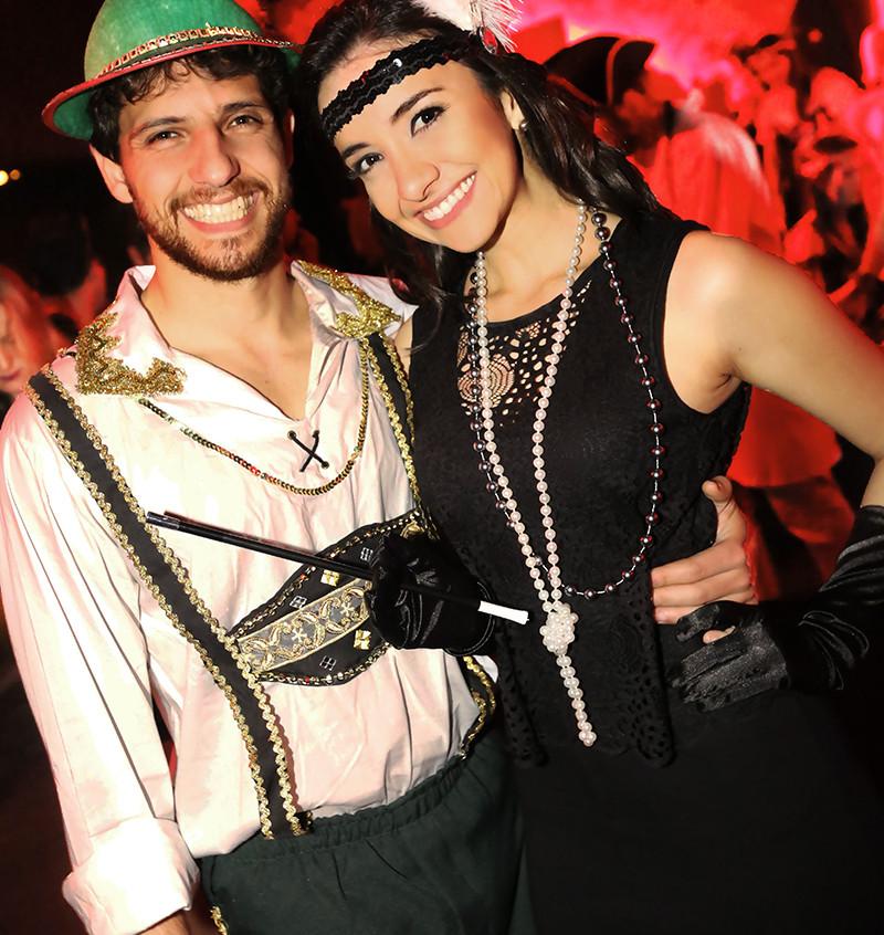 Thales Cavallazi da Silva e Diana Dias