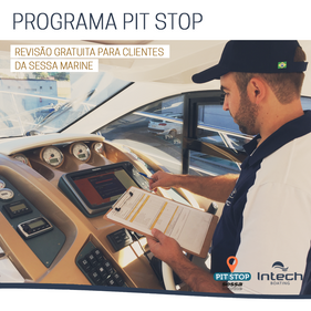 Intech Boating lança PIT STOP