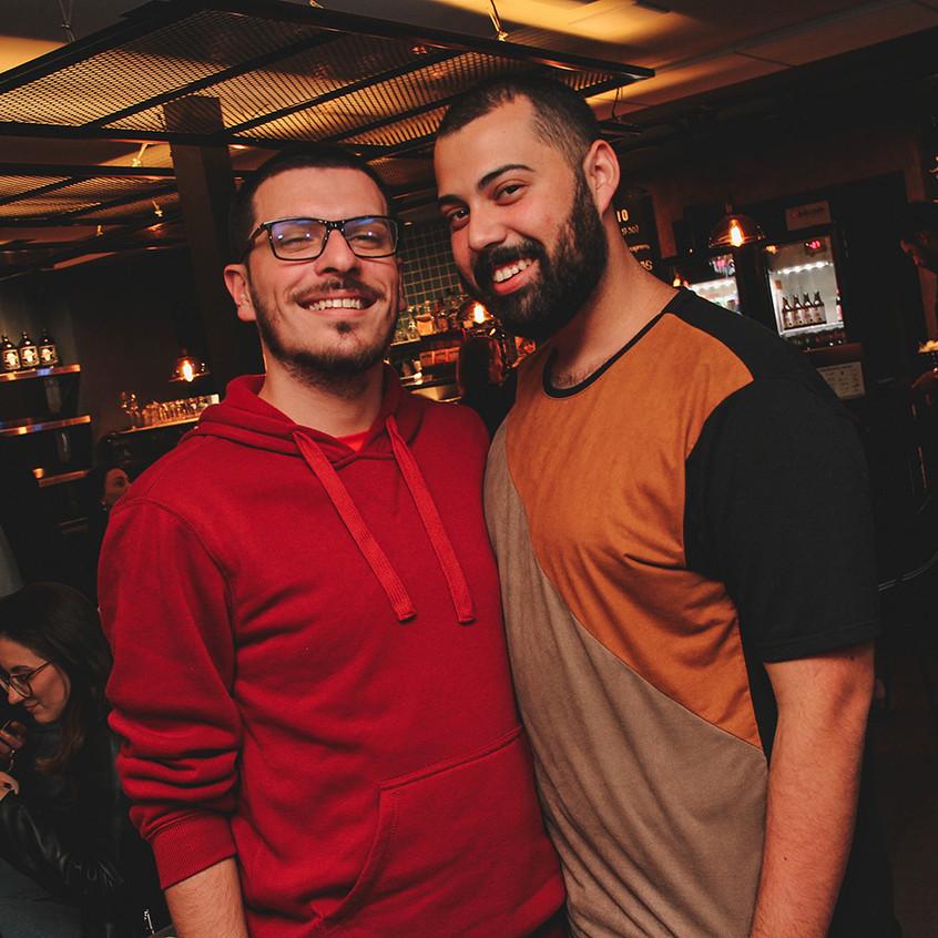 Derick Caitano e Lucas Lameira _ foto An