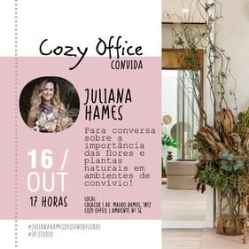 CASACORrecebe a designer floral Juliana Hames