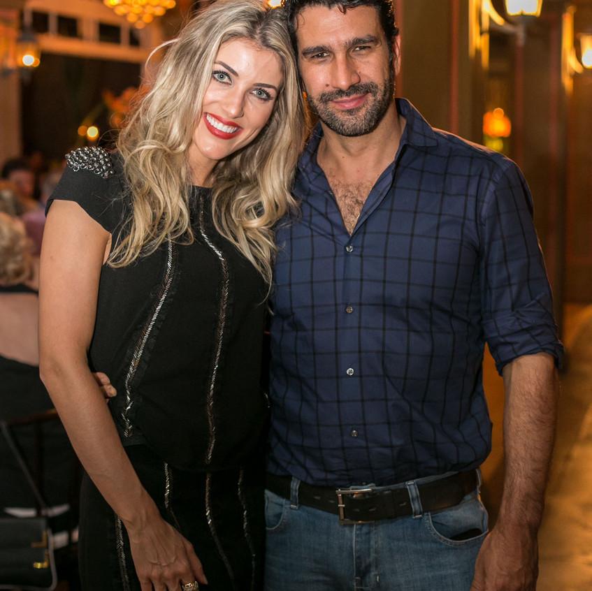 Camila Guollo e Fabio Queiroz