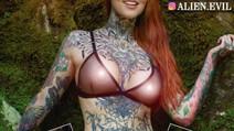 Miss Tattoo Florianópolis é destaque na maior revista de arte corporal da América Latina
