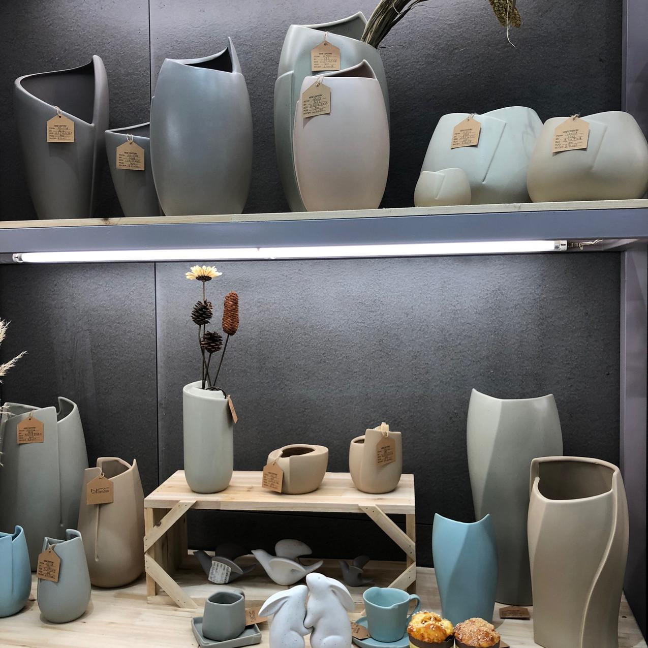Ceramicas com formatos diferenciados