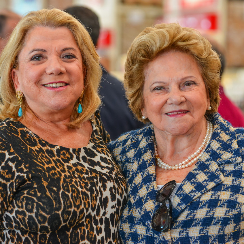 Irani Pereira e Dona Trude (Hiltrudes Pereira) _ foto Chan _ WeArt