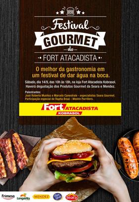 Festival Gourmet reúne amantes da gastronomia no Fort Atacadista