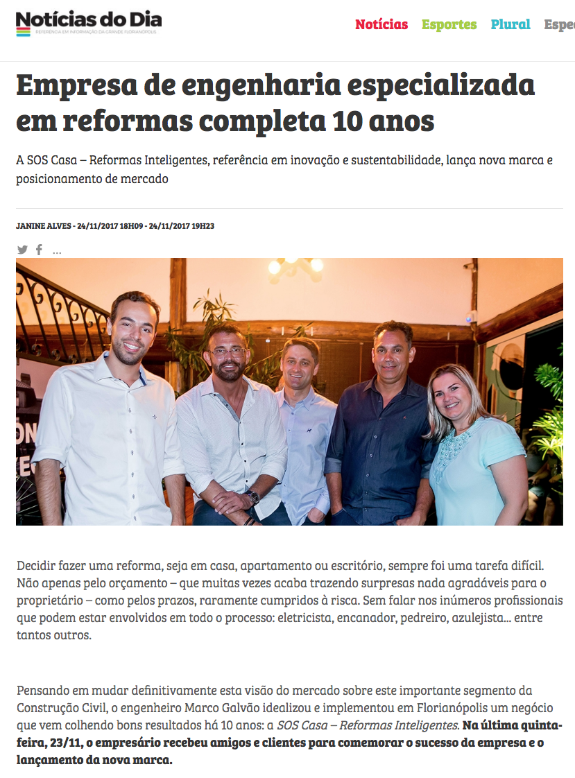SOS Casa - Reformas Inteligentes